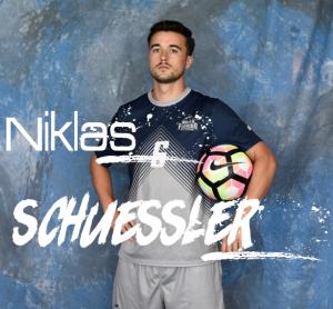 Niklas Schüssler spiel bei der University of North Florida