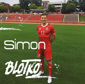 Simon Blotko - Kapitän der NC State / Fussballstipendium USA
