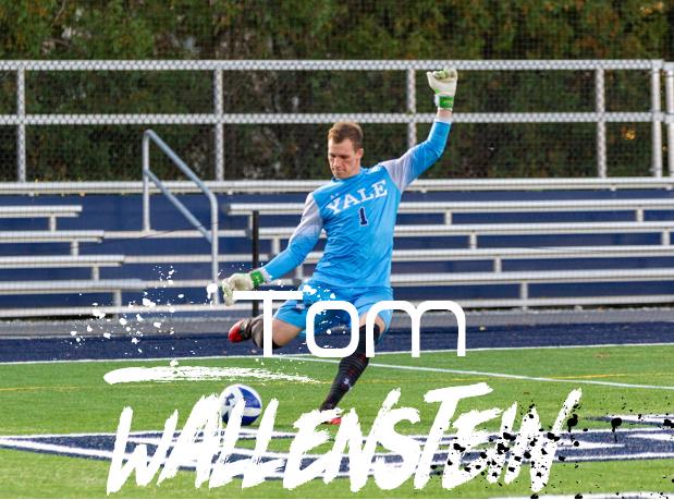 Tom Wallenstein spielt Collegefussball bei der YALE University